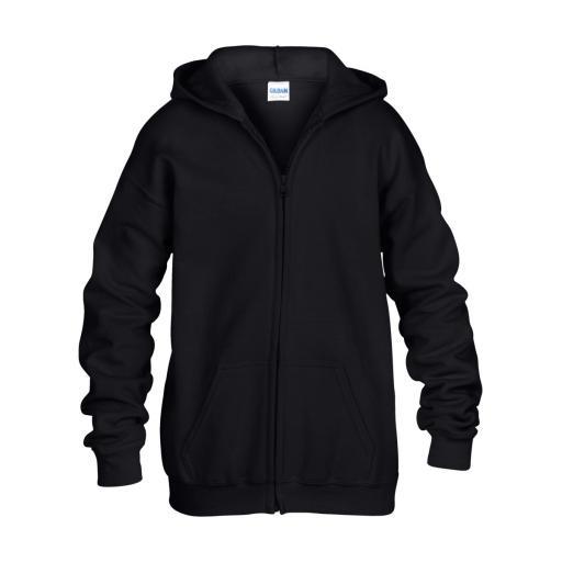 Heavy Blend® Youth Full Zip Hooded Sweatshirt