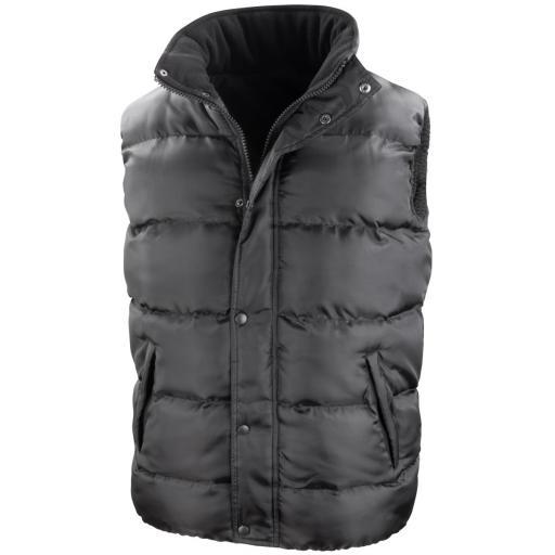 Nova Lux Padded Hooded Gilet
