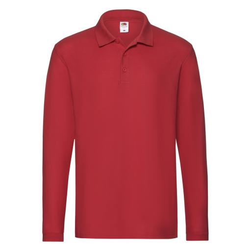 Men's Premium Long Sleeve Polo