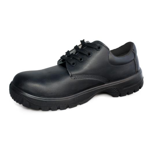 Comfort Grip Lace up Safety Shoe