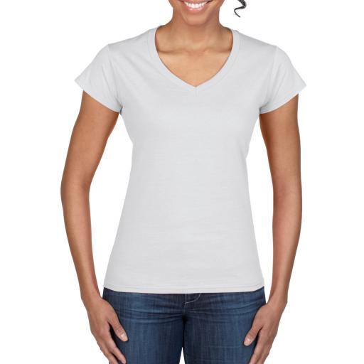 Softstyle® Ladies' V-Neck T-Shirt