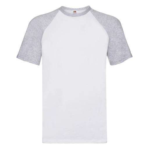 Men's Valueweight Short Sleeve Baseball T-Shirt