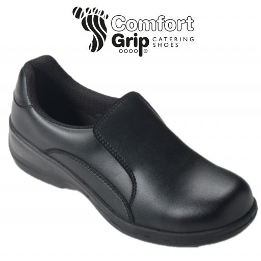 Comfort Grip Ladies Slip-On