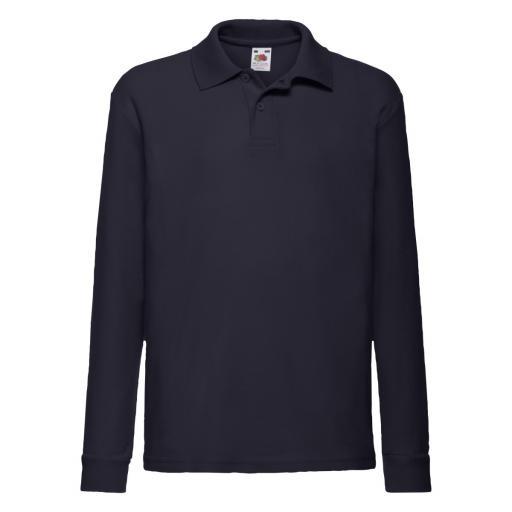 Kid's 65/35 L/Sleeve Polo