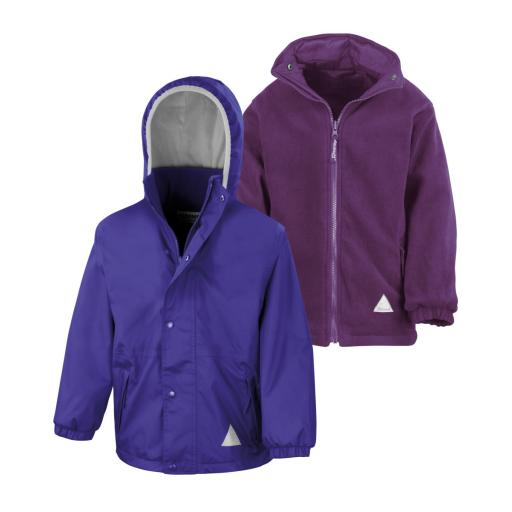 Kid's Reversible StormDri 4000 Fleece Jacket