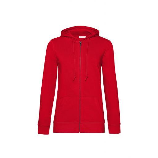 Women's Organic Zipped Hood