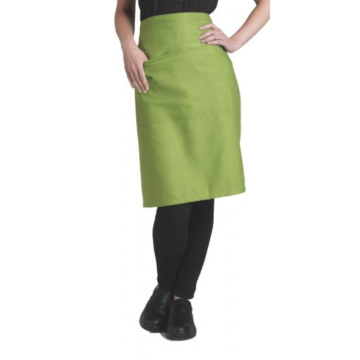 Recycled Waist Apron With Pocket
