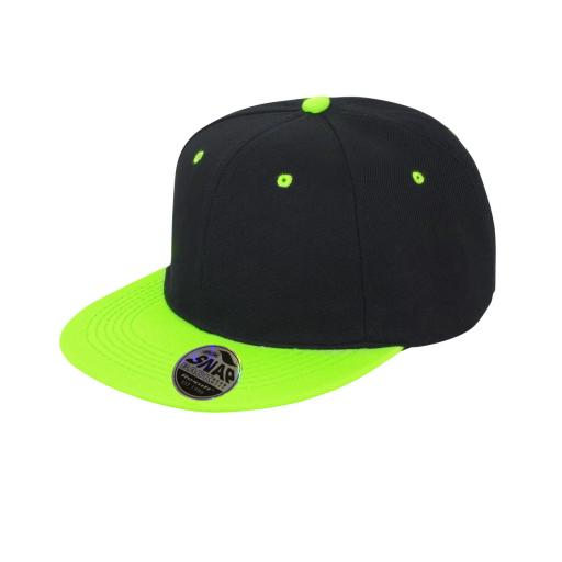 Bronx Original Flat Peak Snap Back Dual Colour Cap