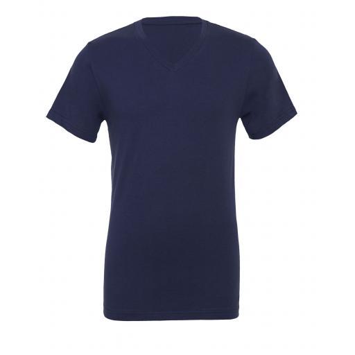 Canvas Unisex Jersey Short Sleeve V-Neck Tee