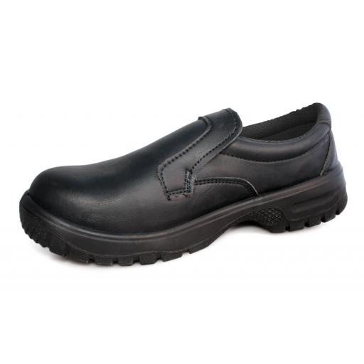 Comfort Grip Slip-On Safety Shoe