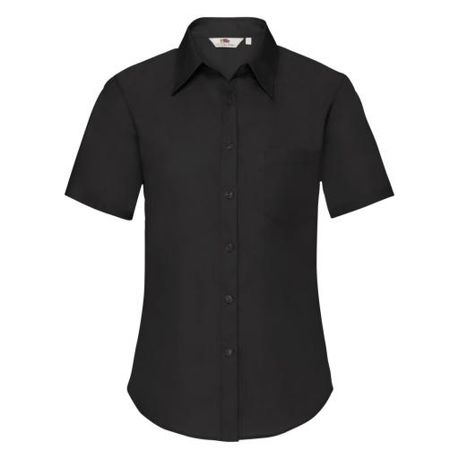 Ladies' Short Sleeve Poplin Shirt