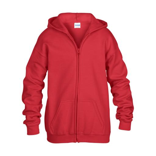 Heavy Blend® Youth Full Zip Hooded Sweatshirt