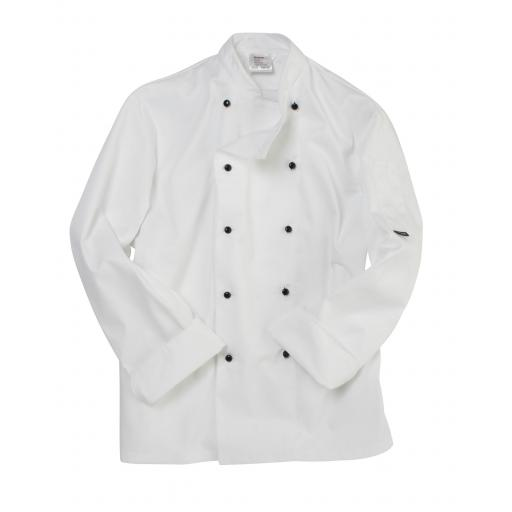 Removable Stud Long Sleeve Chef's Jacket