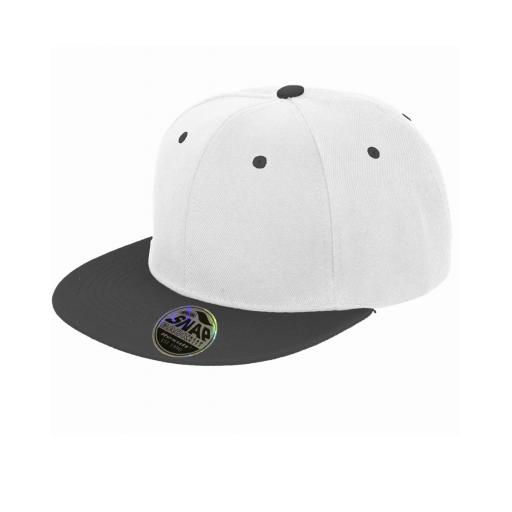 Bronx Original Flat Peak Snap Back Dual Colour Cap