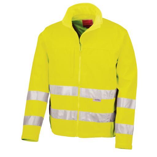 Hi-vis Tech Soft Shell Jacket