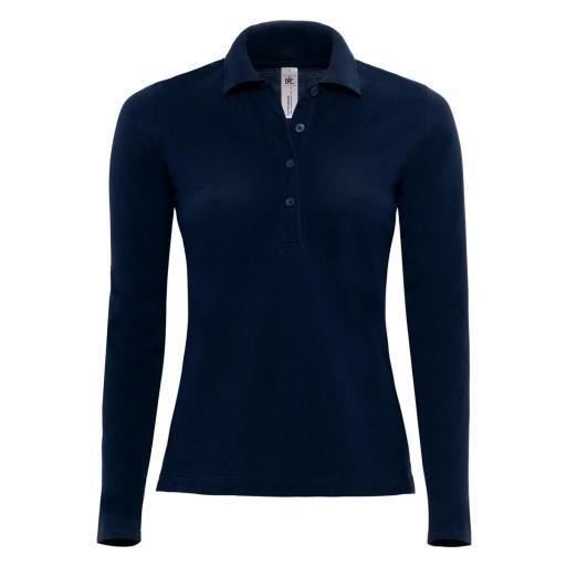 Safran Pure Women's Long Sleeve Polo