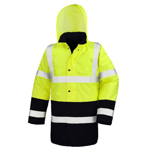 Moterway 2-Tone Safety Coat