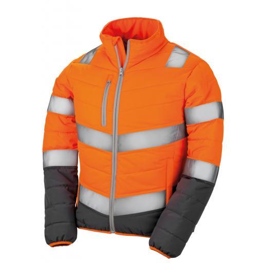Women's Soft Padded Safety Jacket