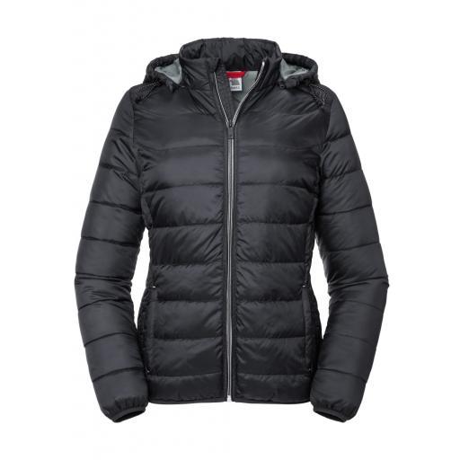 Ladies' Hooded Nano Jacket
