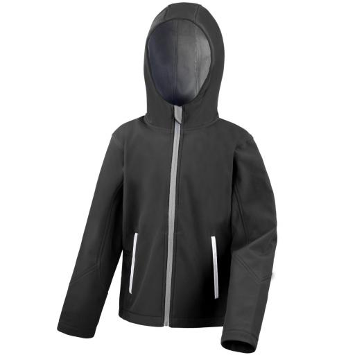 Junior TX Performance Hooded Softshell