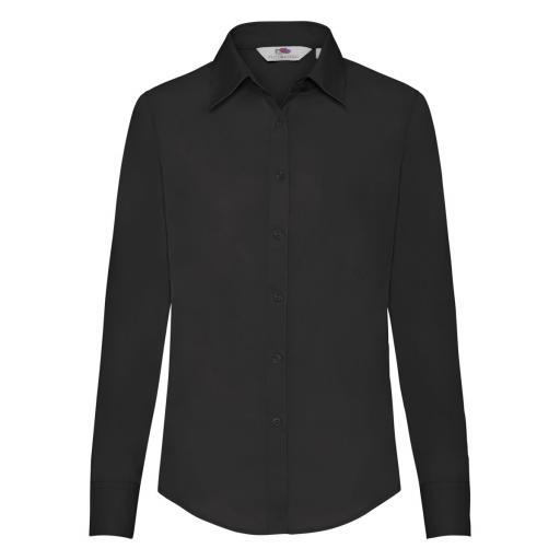 Ladies' Long Sleeve Poplin Shirt