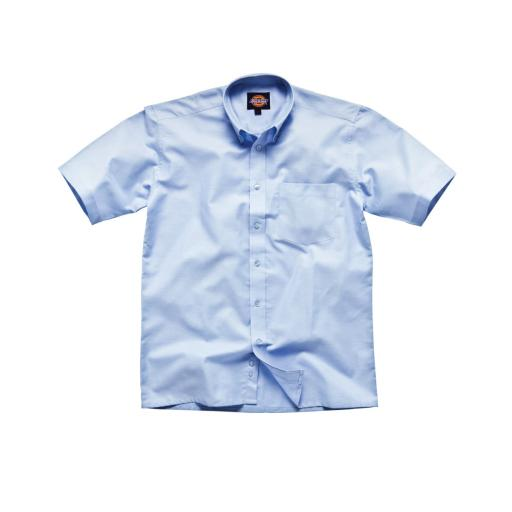 Men's Oxford Weave Short Sleeve Shirt