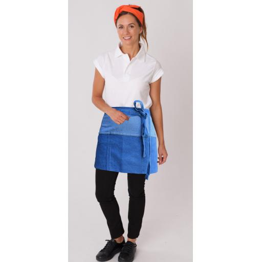 Denim Money Pocket Apron
