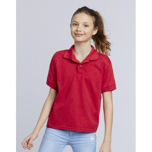 DryBlend® Youth Double PiquÈ Polo