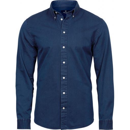 Men's Casual Twill Shirt