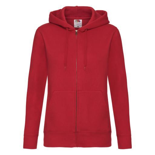 Ladies' Premium Hooded Sweat Jacket