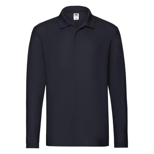 Men's Premium Long Sleeve Polo