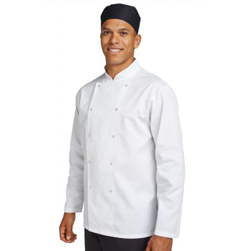 Budget Long Sleeve Chefs Jacket