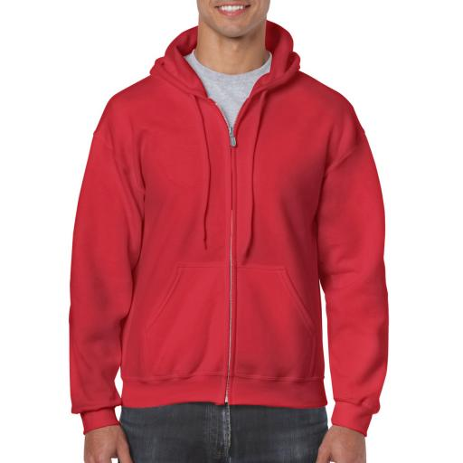 Heavy Blend® Adult Full Zip Hooded Sweatshirt