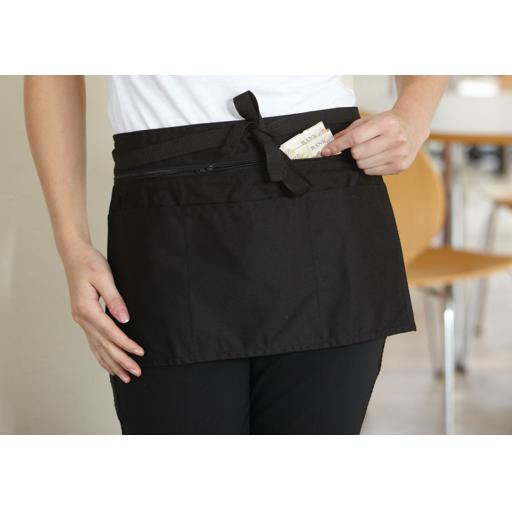 Full Zip Multi-Pocket Apron