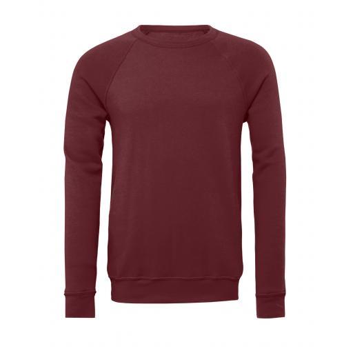 Canvas Unisex Sponge Fleece Raglan Sweatshirt