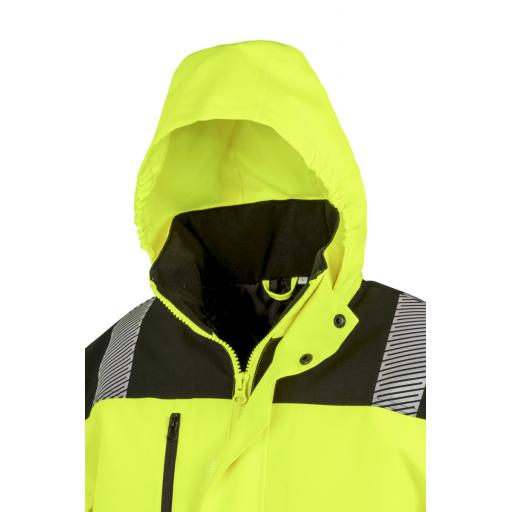 Extreme Tech Printable Softshell Safety Coat
