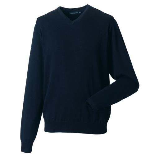 Men's V-Neck Knitted Pullover