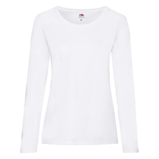 Ladies' Valueweight Long Sleeve T-Shirt