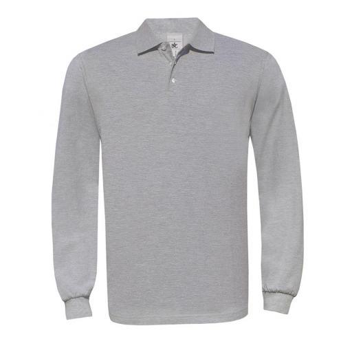 Safran Long-sleeved Polo Shirt