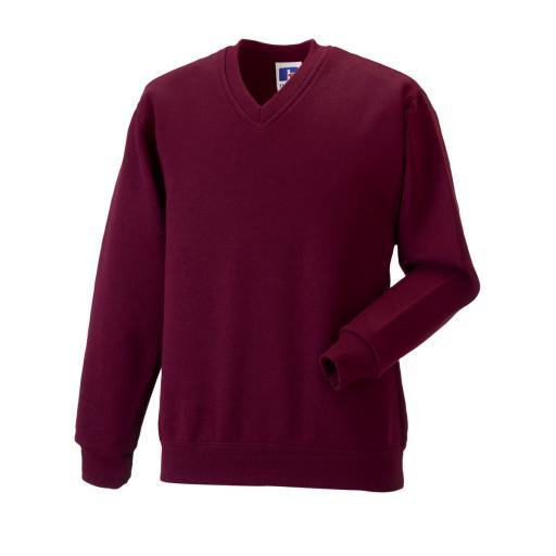 Children's V-Neck Sweatshirt