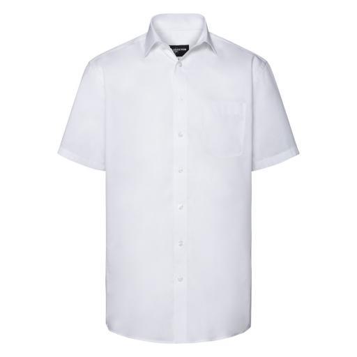 Men's Short Sleeve Tailored Coolmax® Shirt
