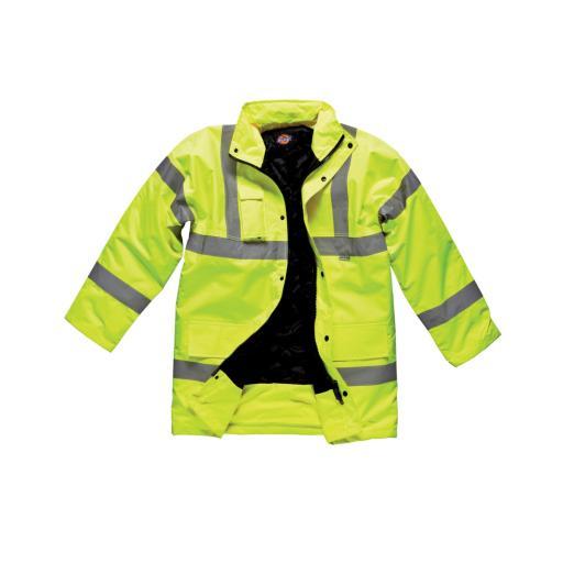 Hi-Vis Motorway Safety Jacket