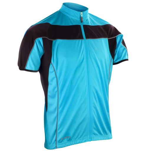 Men's Bikewear Full Zip Performance Top