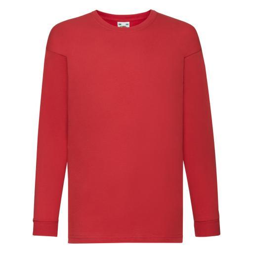 Kid's Valueweight Long Sleeve T-Shirt