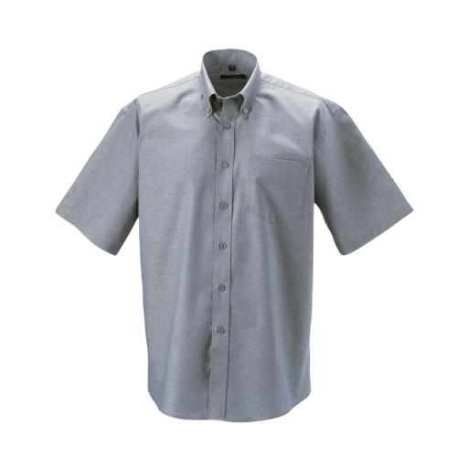 Men's Short Sleeve Easy Care Oxford Shirt