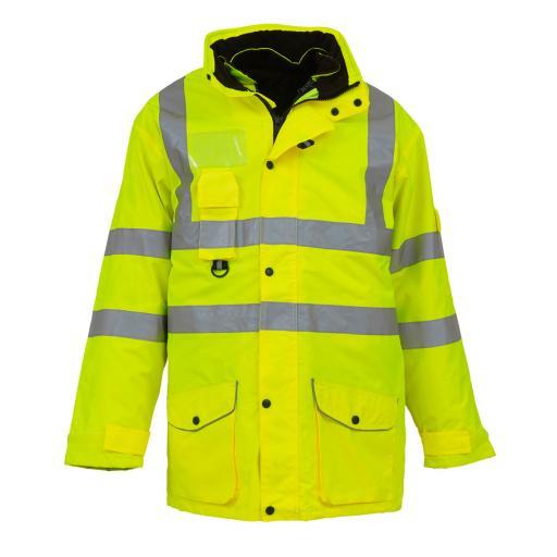 Hi-Vis Multi-Function 7-in-1 Jacket
