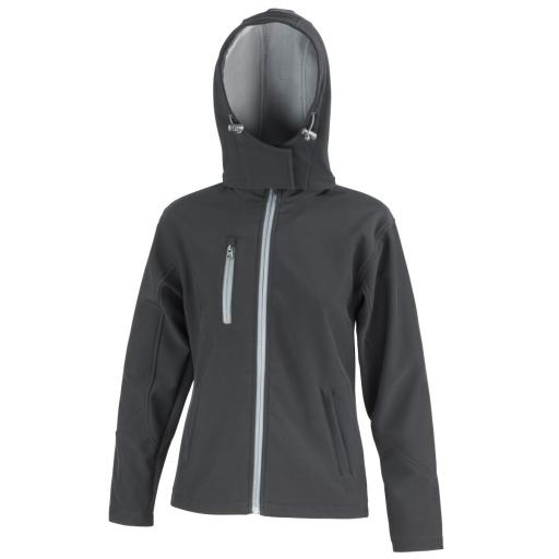 Women's TX Performance Hooded Softshell Jacket