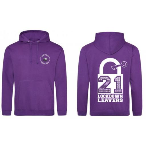 Adults Size Leavers Hoodies